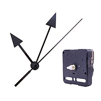 Wall Clock Quiet Clockwork, Quartz Clockwork, Whisper Quiet Clockwork with Long 3 Pointer Sets for Wall Clock