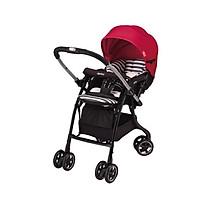 Xe Đẩy Trẻ Em Aprica Luxuna Dual CTS Contrast Red Dành Cho Trẻ 0-36 Tháng