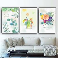 Bộ 3 Tranh Canvas Trái Cây Mùa Hè – L002