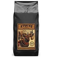 Cà phê pha máy espresso K Phiêu - cà phê rang xay nguyên chất Cầu Đất Việt Nam túi 1kg