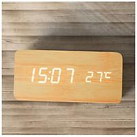 Đồng hồ để bàn led báo thức thông minh