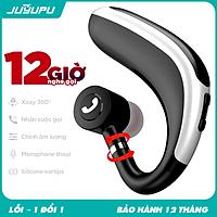 Tai nghe không dây JUYUPU BXJ7 cao cấp bluetooth V5.0 xoay 360 độ móc tai dành cho iPhone Samsung OPPO VIVO HUAWEI XIAOMI - HÀNG CHÍNH HÃNG