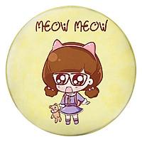 Gối Ôm Tròn Cô Bé Meow Meow - GOCT215
