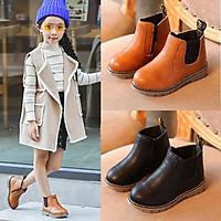 Boot da bé gái trẻ em thiết kế Hàn Quốc