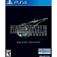 Đĩa Game Final Fantasy VII Remake Deluxe Edition Hệ US - Hàng Nhập Khẩu