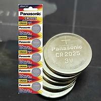 Pin nút Panasonic Lithium 3V CR-2025 x01 vỉ (Hàng chính hãng)