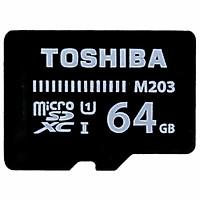 Thẻ Nhớ 64Gb TOSHIBA 100Mb/s UHS-1 M203 MicroSDHC - Hàng chính hãng