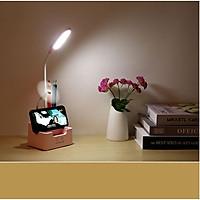 Đèn đọc sách để bàn chống cận có PIN chiếu sáng di động