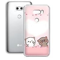 Ốp lưng điện thoại LG V30 - 01253 7874 LOVELY07 - Silicon dẻo - Hàng Chính Hãng