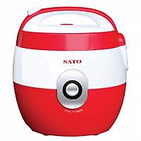 Nồi cơm điện SATO S18-88C(Đ) 1.8 lít (Màu đỏ) - Hàng chính hãng