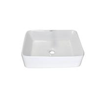 Chậu lavabo rửa mặt LP-8032 sứ trắng cao cấp kích thước 480x375x130mm