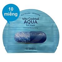 Combo 10 Miếng Mặt Nạ Banobagi Vita Cocktail Aqua Foil (30ml / Miếng)