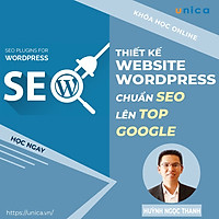 Khóa học MARKETING - Thiết kế website wordpress chuẩn SEO lên TOP Google