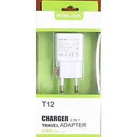 BỘ SẠC USB T12 WINLINK SẠC FULL DÒNG ANDROID