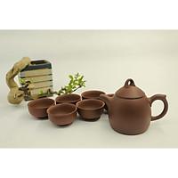 Bộ ấm gốm sứ - Bộ trà đất nung - Bộ ấm trà An Thổ Túc - Bộ ấm trà  Quả Chuông