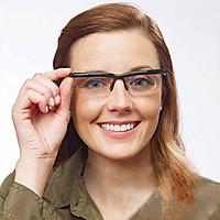 Adjustable Eyeglasses Distance Crystal Clear Vision Sliding Lens Technology