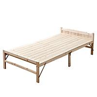 Giường ngủ gỗ thông gấp gọn