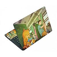 Miếng Dán Decal Dành Cho Laptop Mẫu Hoạt Hình LTHH - 328 cỡ 13 inch