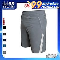Quần Short Gió Nam Thể Thao 5S (QSG21007) Trẻ Trung, Năng Động, Nam Tính