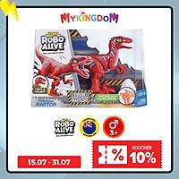 Đồ chơi ROBO ALIVE Khủng long Raptor nhanh nhẹn_Đỏ 25289/RED