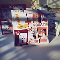 Bộ Kit Khung Ảnh Scrapbook Handmade