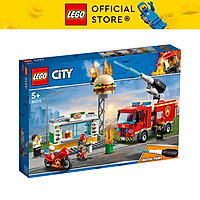 Đồ Chơi Lego Cứu Hỏa Tiệm Bánh Burger - 60214