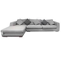 Sofa Vải Chữ L Góc Phải Juno Randolph 326 x 171 x 63 cm (Xám)