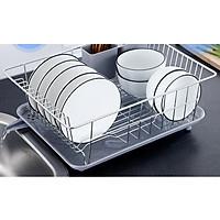 Kệ nhà bếp đa năng tiện dụng inox 304 - 40x30x15cm 820g