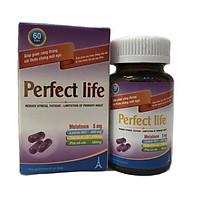 Thực phẩm chức năng chữa mất ngủ thảo dược hiệu quả Perfect Life(60v)