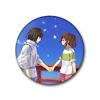 Huy hiệu Anime Chihiro và Haku Spirited Away Vùng đất linh hồn