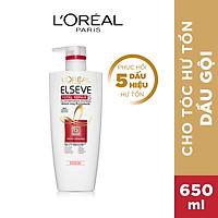 Dầu gội phục hồi tóc L'oreal Paris Elseve Total Repair 5 Repairing Shampoo 650ml