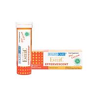Viên sủi bổ sung vitamin C êm dịu dạ dày Ester C giúp tăng cường đề kháng suốt 24 giờ, không gây sỏi thận, công thức thế hệ mới từ Mỹ - Tuýp 10 viên sủi