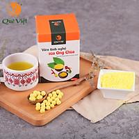 Viên Tinh nghệ sữa ong chúa Quê Việt - tăng sức đề kháng, kháng viêm, chống oxy hóa, ngăn ngừa ung thư