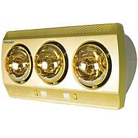 Đèn sưởi phòng tắm Navado NAV8003V treo tường 3 bóng hồng ngoại - Hàng Chính Hãng