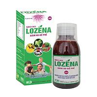 thực phẩm bảo về sực khỏe Siro ho Lozena