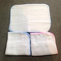 Khăn sữa cotton 3 lớp mềm cho bé - Set...
