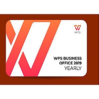 Phần mềm WPS Office 2019 Professional (Yearly) - Hàng chính hãng