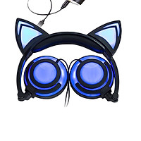 Tai Nghe Chụp Tai Thiết Kế Hình Tai Mèo + Tặng kèm 1 Ghế Đỡ Điện Thoại Đa Năng T2