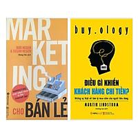 Combo Sách Kỹ Năng Làm Việc Hay: Marketing Cho Bán Lẻ + Điều Gì Khiến Khách Hàng Chi Tiền? - Tặng kèm Bookmark Happy Life