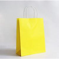 Combo 30 Túi Kraft Màu Vàng Size M