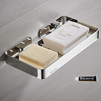 Kệ đựng xà phòng HOBBY SB6 Inox 304 dán tường gạch men hoặc khoan tường - loại lớn cao cấp