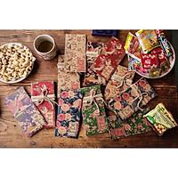 100 Bao Lì Xì May Mắn Giấy Kraft Nhật Bản ( Mix Các Mẫu)