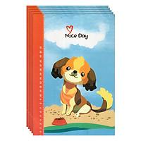 Lốc 5 Cuốn Tập Sinh Viên 160 Trang ĐL 80 - Một Ngày Tốt Lành (Mua 1 Lốc Tặng 1 Cuốn Cùng Loại)