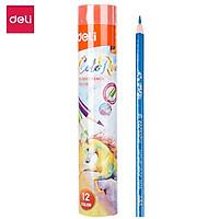 Bút chì màu ( cốc ) Deli - 12 màu/24 màu/36 màu - 1 hộp - EC00308/EC00328/EC00338