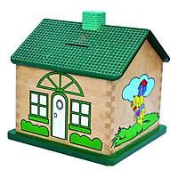 Đồ Chơi Gỗ Colligo - Nhà tiết kiệm hình chữ nhật (xanh) 71121
