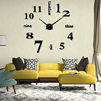Đồng hồ dán tường trang trí