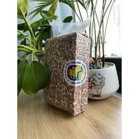 Gạo lứt đỏ Đan Mễ - gạo dẻo đặc sản -hút chân không 1kg