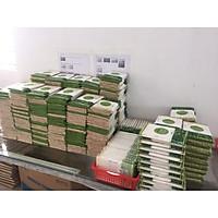 100 gói đũa gỗ dùng 1 lần mỗi gói 40 đôi bọc bao giấy hở miệng
