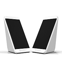 USB Wired Subwoofer Multimedia Desktop Speaker with Stereo Sound Effect Independent Volume Wire Control for PC Laptop
