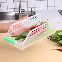 Khay Nhựa Đựng Rau Củ Đồ Dùng Tủ Lạnh (Tiện lợi, dễ sử dụng)
